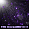 Star rain 5 Differences