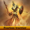 Fearless warrior