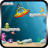 Aqualunger. Hidden object…