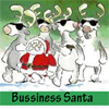Business Santa 5 Differences