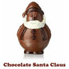 Chocolate Santa Claus