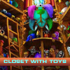 Closet with toys