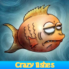 Crazy fishes. Find object…