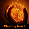 Flaming heart 5 Differenc…