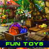 Fun Toys. Find objects