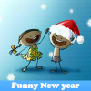 Funny New year. Find obje…