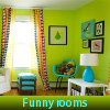 Funny rooms. Find objects