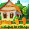 Holiday in village