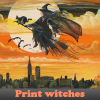 Print witches 5 Differenc…