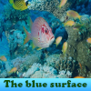 The blue surface